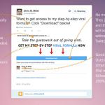 TweetLead One Click Sign Up demo image