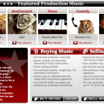 Music Revolution home page image