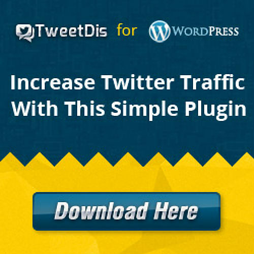Tweetdis WordPress plugin to share content_2