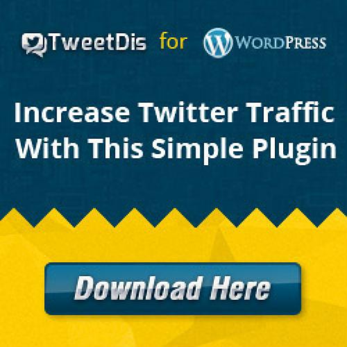 Tweetdis WordPress plugin to share content_2