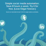 Meet Edgar! Social Media Scheduling Tool